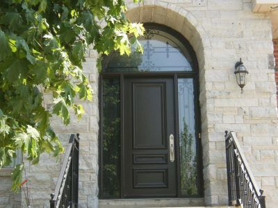 Shaped front Entry Door