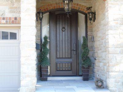 Mastergrain fiberglass doors