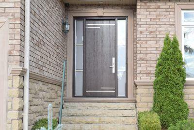 Mastergrain Modern fiberglass door