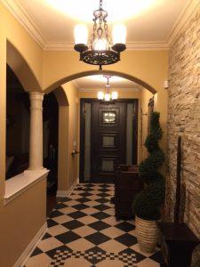 Custom fiberglass doors