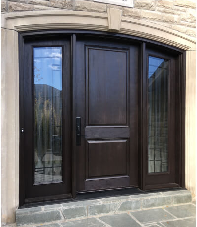 Custom exterior door Woodbridge