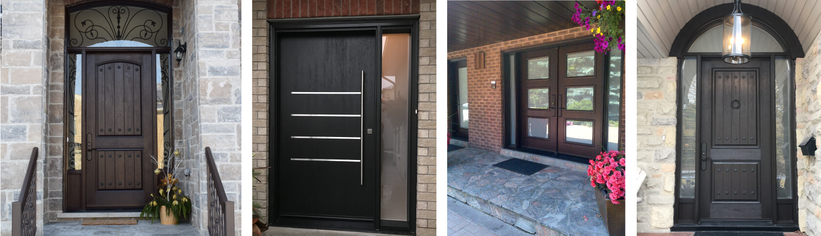 Front doors in Mississauga, Newmarket, Markham, Richmond Hill