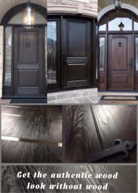 Best Fiberglass Door made in Canada