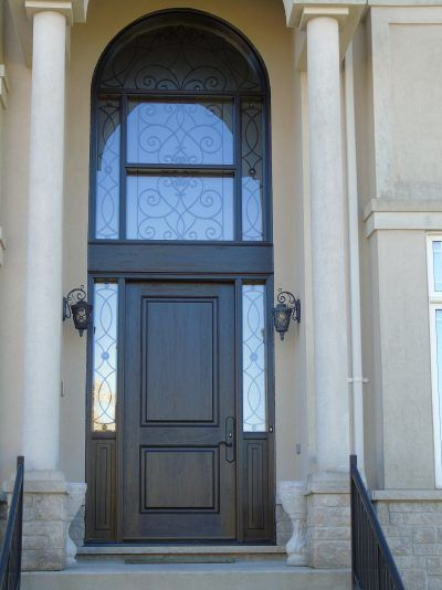 front door in Richmond Hill