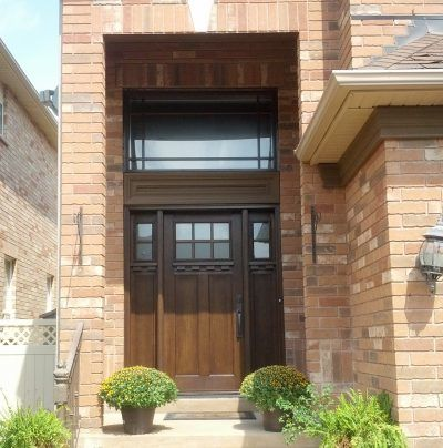 Craftsman Fiberglass door