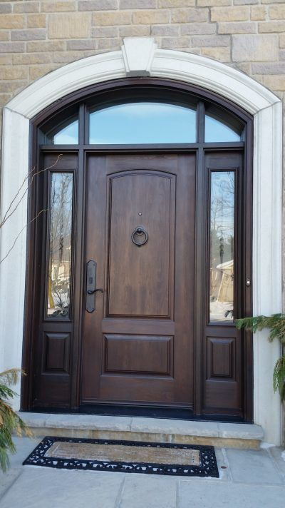 Mastergrain fiberglass door Woodbridge