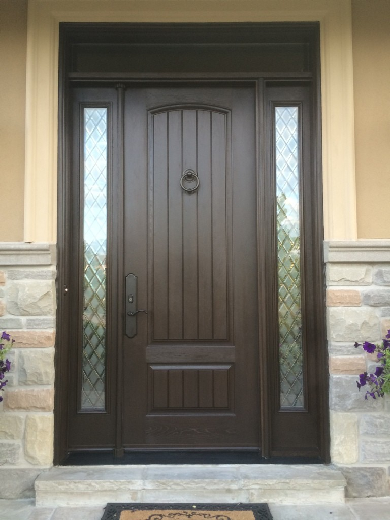Front entry door in Richmond hill