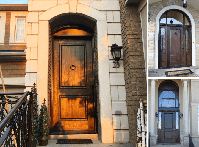 Fiberglass doors in Richmond hill