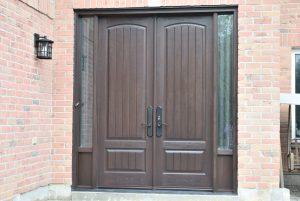 Premium fiberglass doors