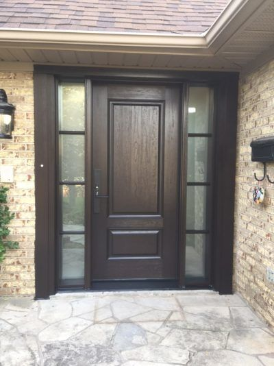 Front doors made in Canada