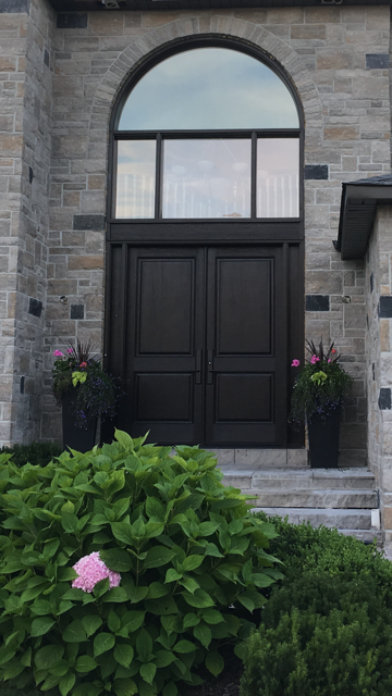 Front doors in Woodbridge