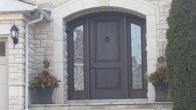 Custom door shaping