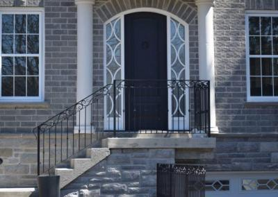 Custom front door in Pickering