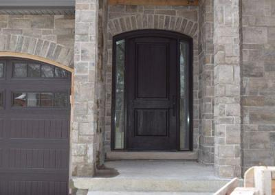 Shaped Front door in Etobicoke