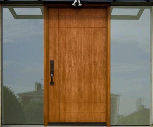 Modern Doors in fiberglass