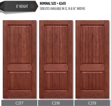 Replace double door with single wide fiberglass door