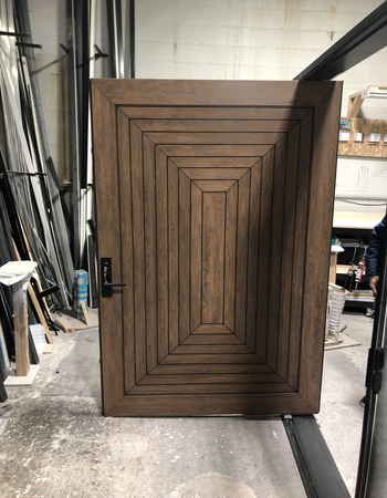Custom fiberglass door design